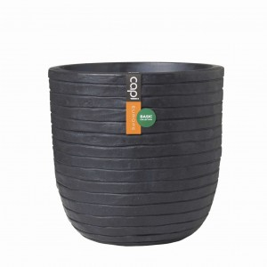 Donica Egg planter dłuto 35x34 - antracyt